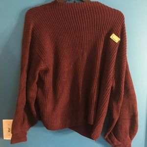Oversized knitted Sweater